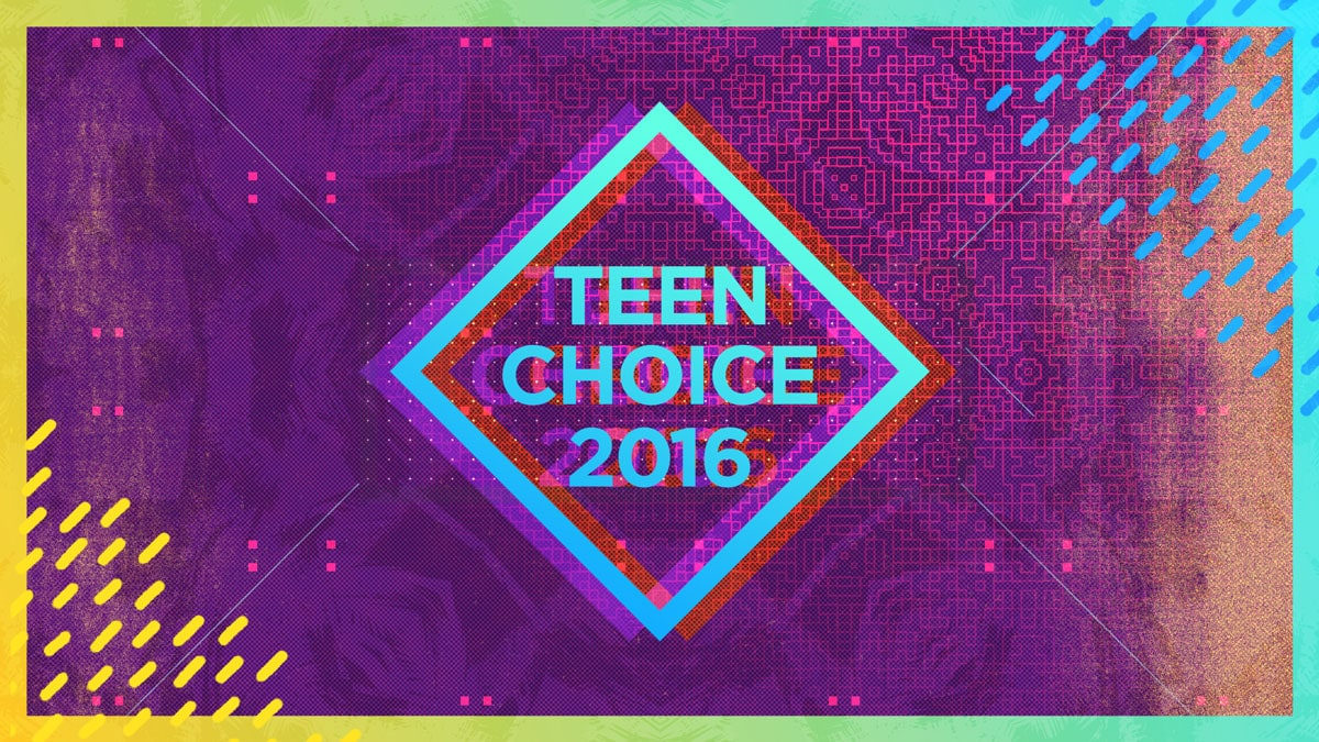2016 Fox US Teen Choice Awards Virtuals Girraphic 6