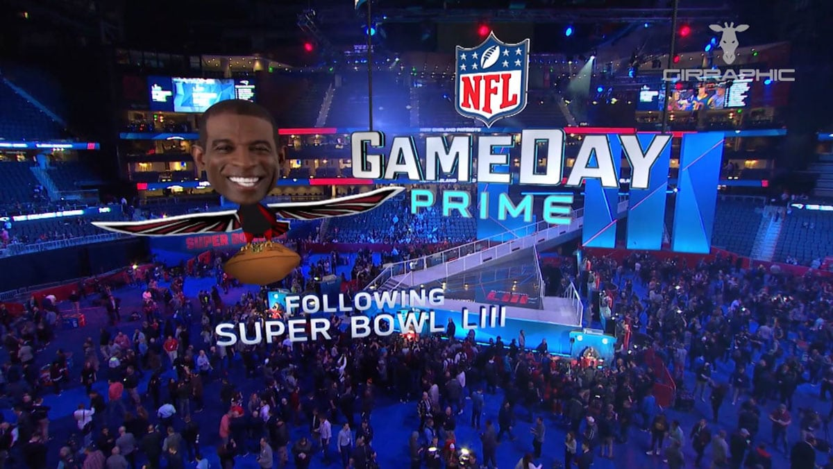 Girraphic NFL Opening Night 2019 6