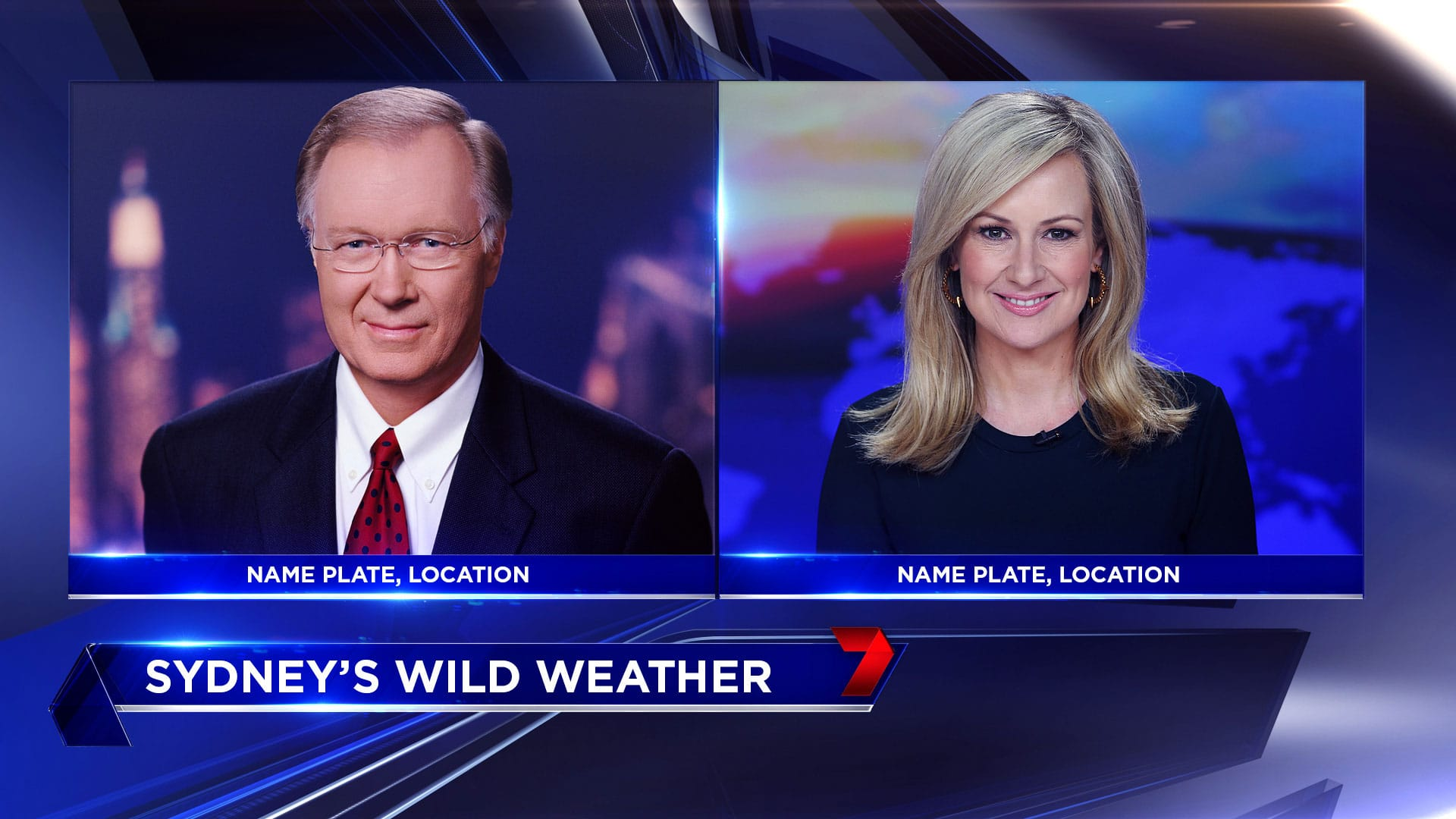 2016 Seven News In Show Graphics Concept 13 Girraphic