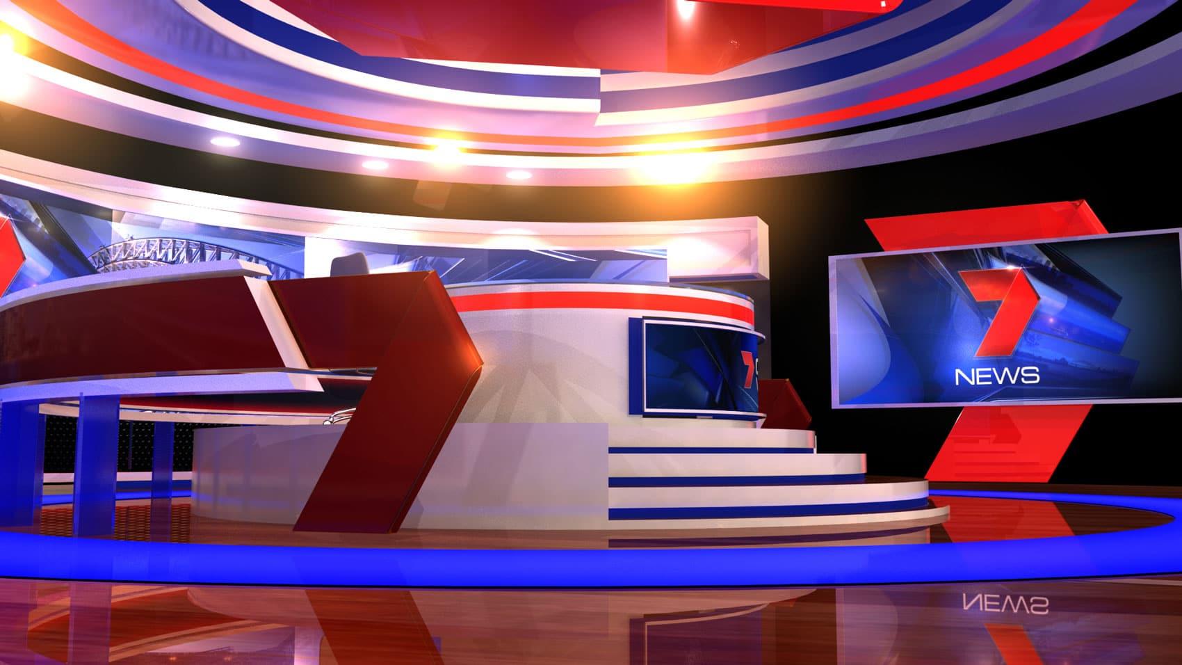 2016 Seven News Set Design 06 Girraphic
