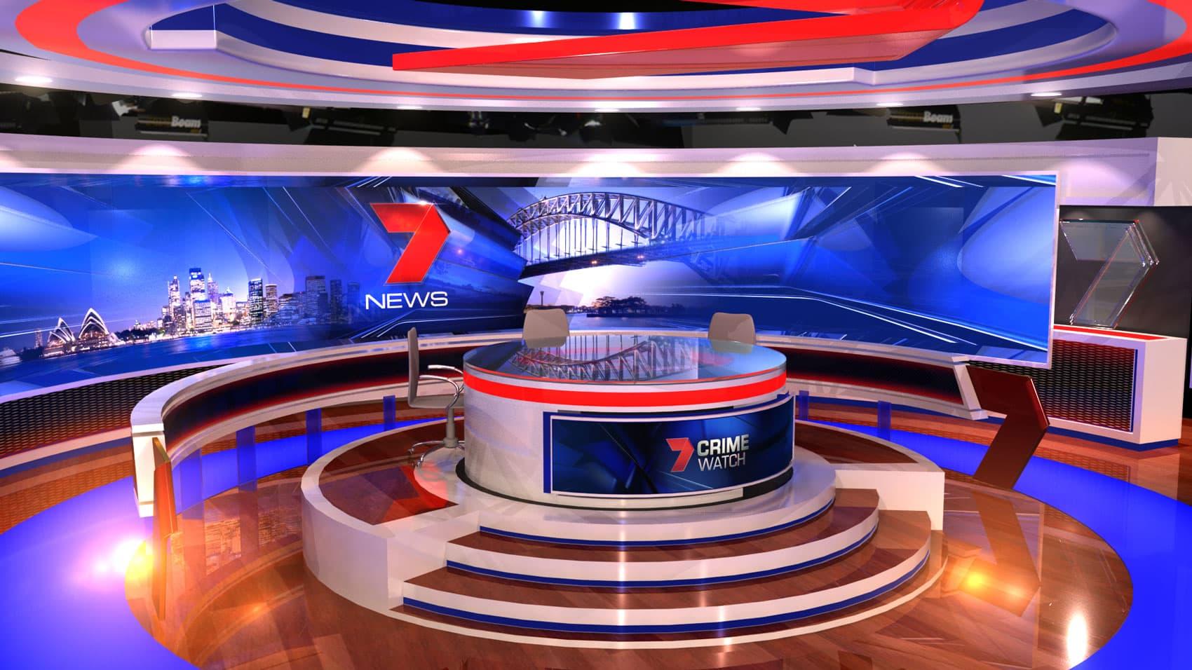 2016 Seven News Set Design 07 Girraphic