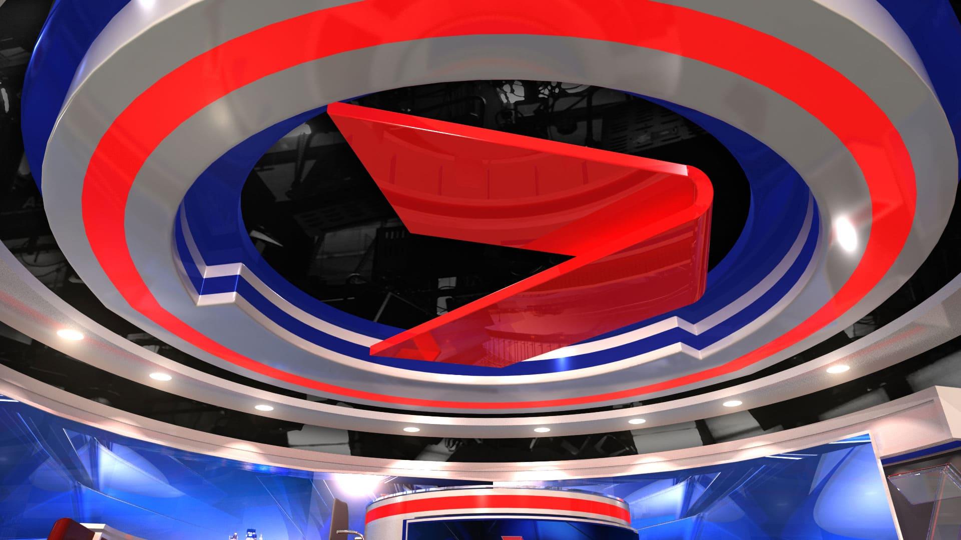 2016 Seven News Set Design 13 Girraphic