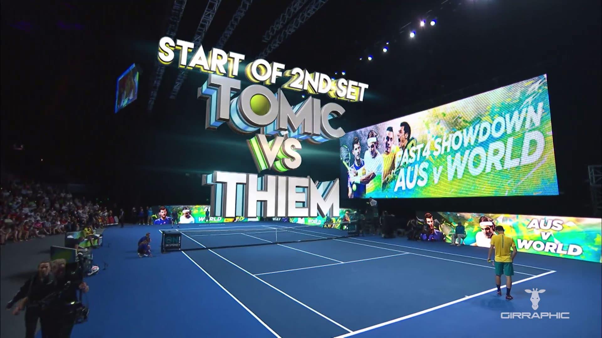 2017 Tennis Australia Fast4 Girraphic