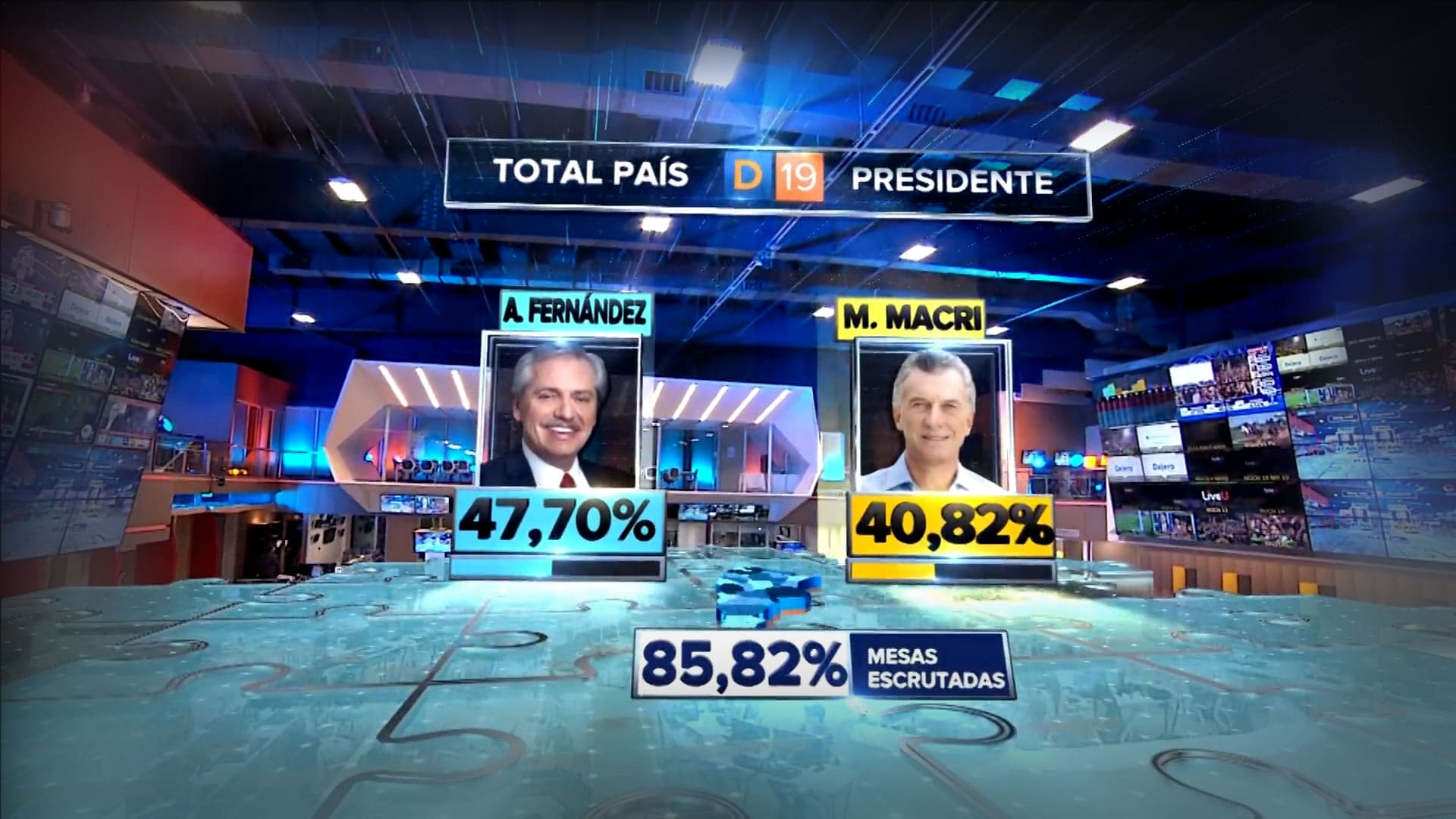 2019 Argentina Presidential Elections Girraphic