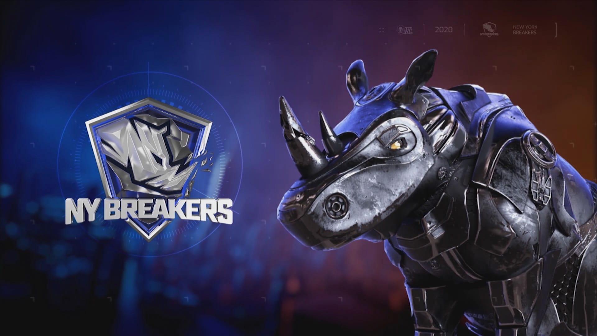 Girraphic ISL 2020 NY Breakers
