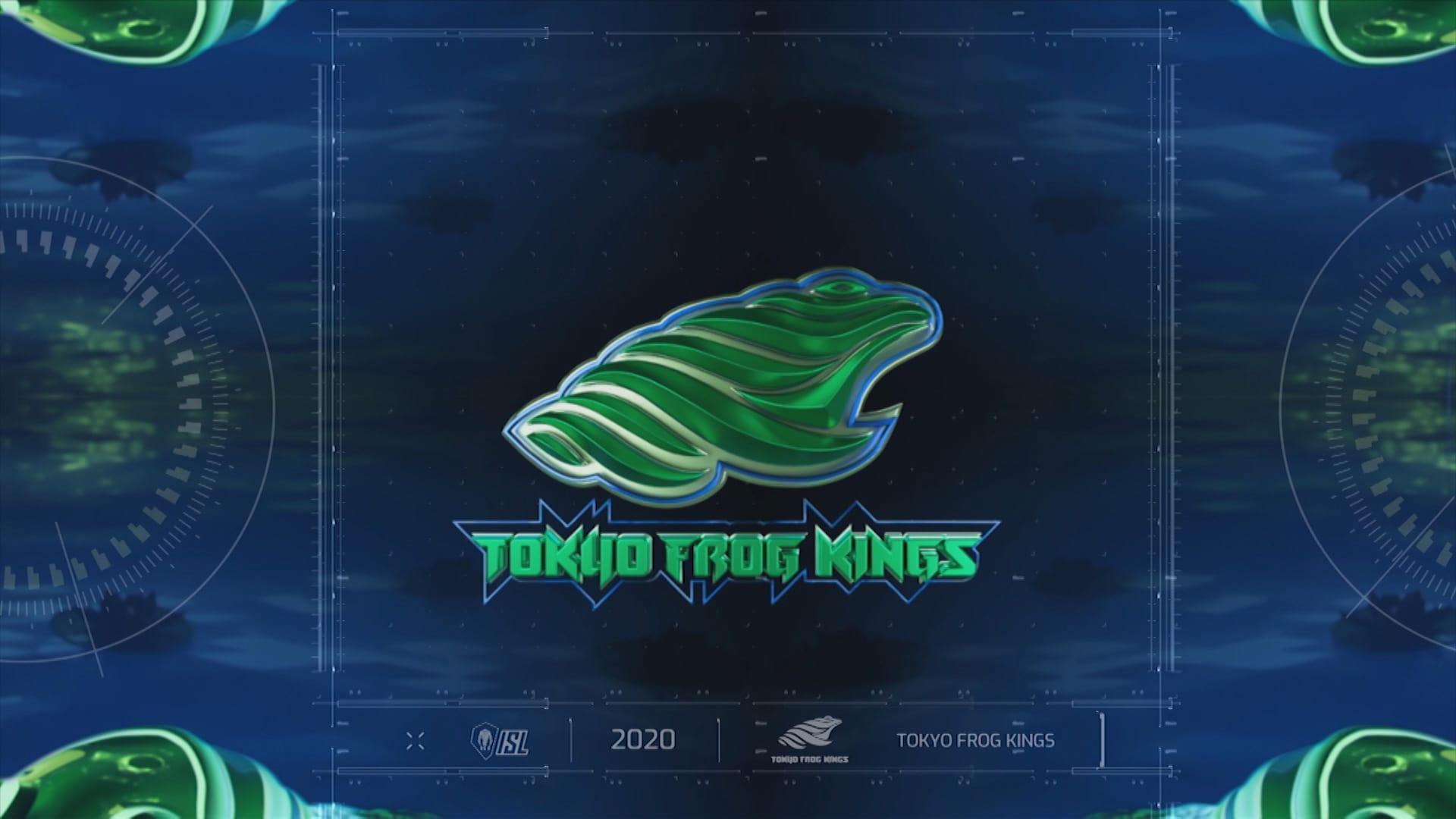 Girraphic ISL 2020 Tokyo Frog Kings