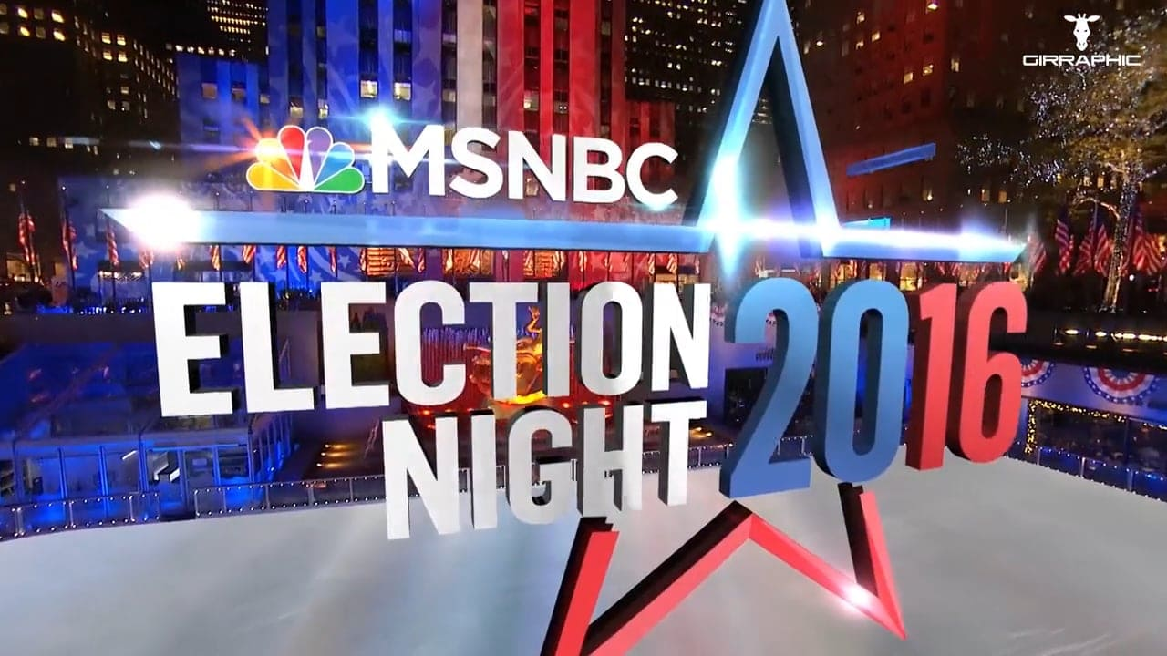 Girraphic USA Elections 2016 MSNBC Cover
