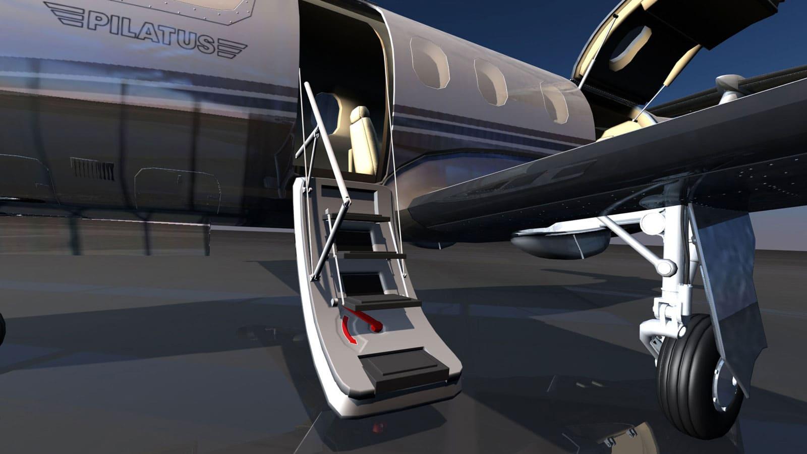2016 Pilatus Concept Render Girraphic 7
