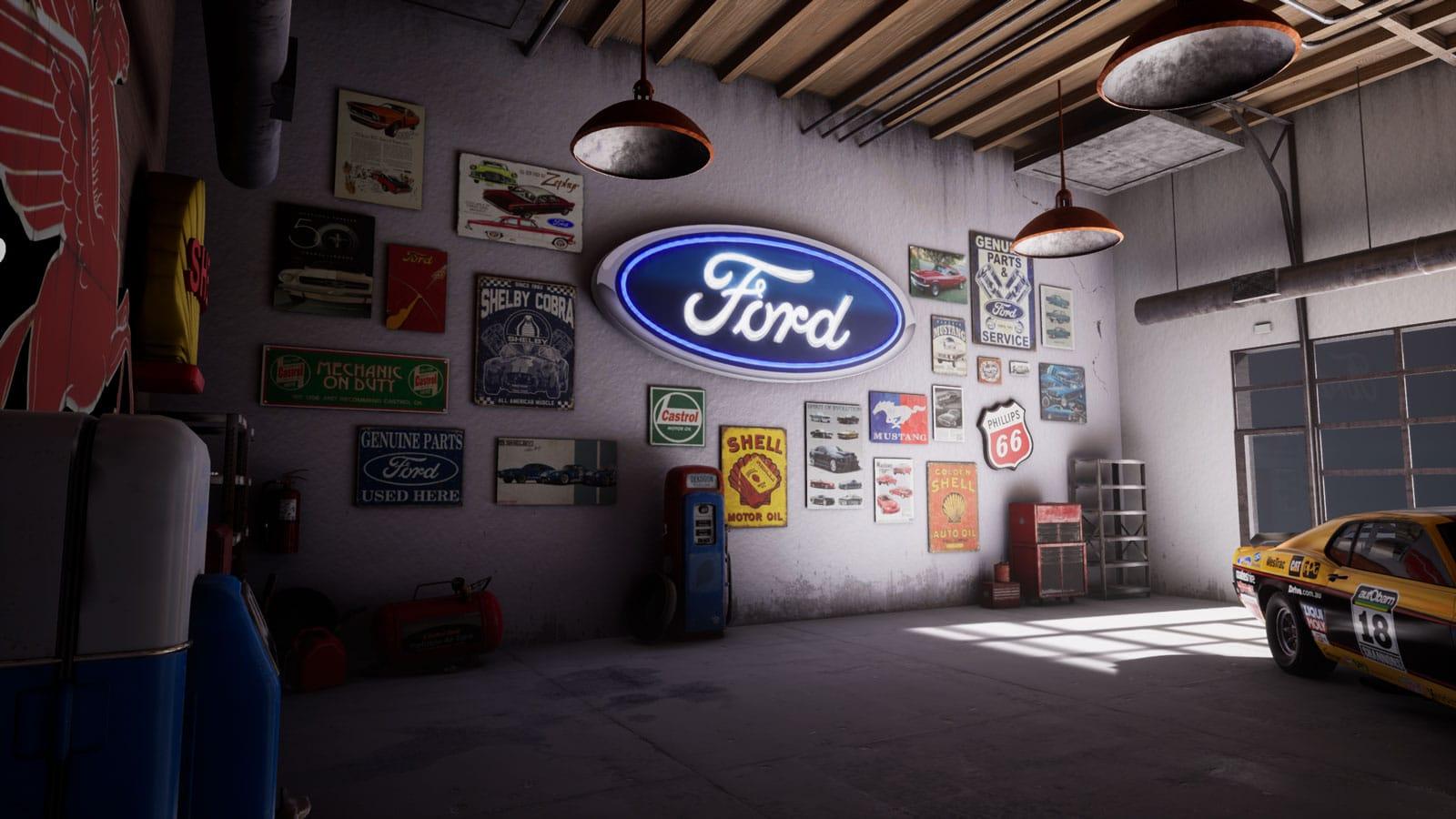 2019 Mustang Unreal Virtual Set Concept Girraphic 4