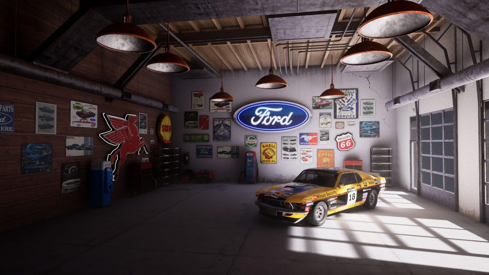 2019 Mustang Unreal Virtual Set Concept Girraphic 9