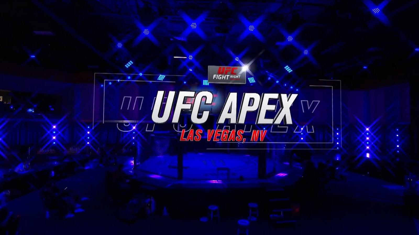 UFC Apex 2020 Girraphic